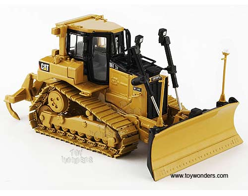 Cat D6T XW Vpat Track-Type Tractor w/ Accugrade GPS (1/50 scale diecast model car, Yellow)