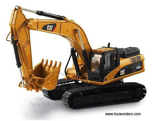 Cat 336D L Hydraulic Excavator (1/50 scale diecast model car, Yellow)
