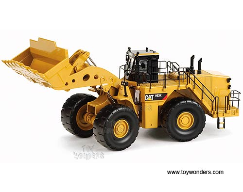 Cat 993K Wheel Loader (1/50 scale diecast model car, Yellow)