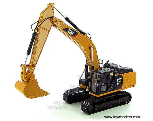 Cat 336E H Hybrid Hydraulic Excavator (1/50 scale diecast model car, Yellow)