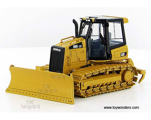 Cat D5K2 LGP Track-Type Tractor (1/50 scale diecast model car, Yellow)