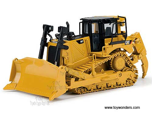 Cat D8T Track-Type Tractor (1/50 scale diecast model car, Yellow)