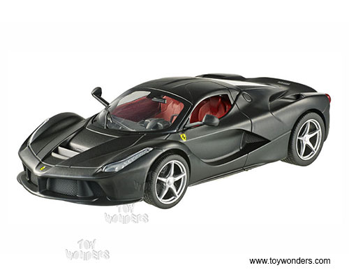 LaFerrari Hard Top (1/18 scale diecast model car, Black)