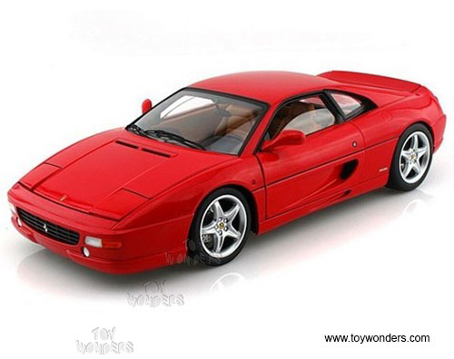 Ferrari F355 Berlinetta Hard Top (1/18 scale diecast model car, Red)