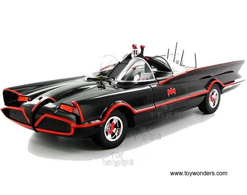 TV Series Batman's Batmobile (1966, 1/18 scale diecast model car, Black)
