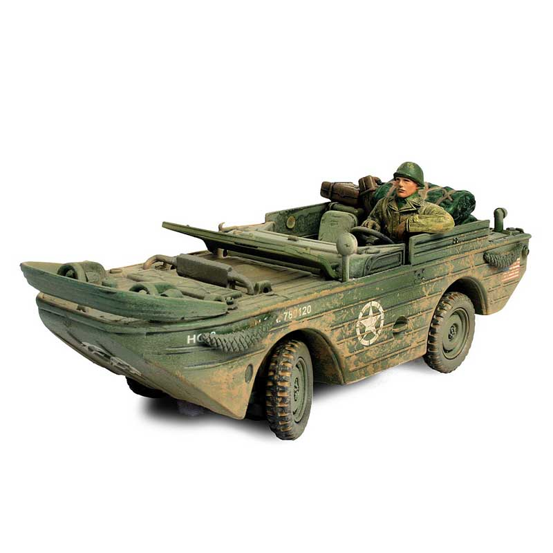 U.S. Amphibian Jeep, 3rd Armored Division, Normandy, 1944 D-Day Commemorative Series (1:32)
