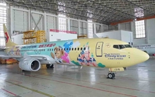 China Eastern B737-800 (Yellow Shanghai Disney) B-1316 (1:400)