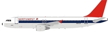 Northwest Airlines Airbus A320-211 N301US (1:200), InFlight 200 Scale Diecast Airliners, Item Number B-320-NW-1218