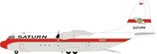 Saturn Airways Lockheed L-100-30 Hercules (L-382G) N15ST (1:200) - Preorder item, Order now for future delivery, InFlight 200 Scale Diecast Airliners Item Number IF1301218