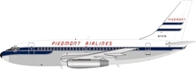 Piedmont Airlines Boeing 737-200 N737N (1:200) - Preorder item, order now for future delivery, InFlight 200 Scale Diecast Airliners, Item Number IF732PT1118