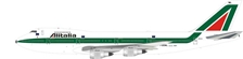 Alitalia Boeing 747-200 I-DEML (1:200), InFlight 200 Scale Diecast Airliners Item Number IF7421116B