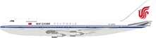 Air China Boeing 747-200 B-2450 (1:200), InFlight 200 Scale Diecast Airliners, Item Number IF742AC001