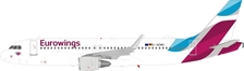 Eurowings Airbus A320-214 D-AEWO (1:200), InFlight 200 Scale Diecast Airliners, Item Number JF-A320-020