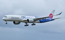 "China Airlines A350-900 ""Carbon Livery"" B-18918 (1:400) - , Phoenix 1:400 Scale Diecast Aircraft, Item Number PH4CAL1831"