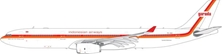 Garuda Indonesia A330-300 Retro Livery PK-GHD (1:400) by Phoenix 1:400 Scale Diecast Aircraft Item Number: PH4GIA1881