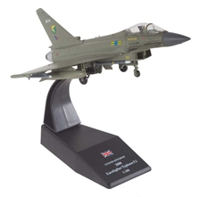 Eurofighter Typhoon F.2 1:100 Scale, 3 Squadron, RAF Coningsby, 2008 (1:100), Royal Air Force Diecast Item Number RAF40607