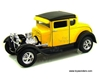 Ford Model A Hard Top (1929, 1/24 scale diecast model car, Yellow) 31201