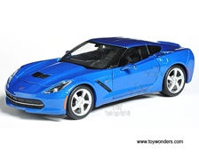 Chevrolet Corvette Stingray Coupe Hard Top (2014, 1/24 scale diecast model car, Blue) 31505