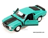Ford Mustang Boss Hard Top (1970, 1/24 scale diecast model car, Assorted Colors)
