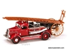 Dennis Light Four Fire Engine (1938, 1:43, Red) 43011, Yatming Item Number 43011R