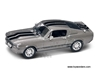 Shelby GT500 Hard Top (1967, 1:43, Grey w/ Black Stripes) 43202, Yatming Road Signature Item Number 43202SV