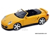 Porsche 911 Turbo Cabriolet Convertilble (1:24, Yellow) 73348, Motormax Item Number 73348YL/6