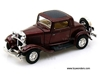 Ford 3-Window Coupe Hard Top (1932, 1:43, Burgundy) 94231, Yatming Road Signature Item Number 94231BG