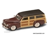 Ford Woody (1948, 1:43, Burgundy) 94251