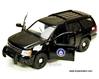 Chevy Tahoe SUV Highway Patrol (2010, 1:24, Black), Jada Toys Hero Patrol Item Number 96295CIA