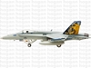 "F/A-18C, US Navy, VFA-192 ""Golden Dragons"" (1:200), Hogan Wings Collectible Airliner Models Item Number HG7570"