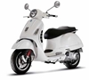 Vespa GTS 300 Super, White (1:12), New Ray Diecast Item Number NR57243W