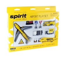 Spirit Airlines Playset by Realtoy Diecast Toys item number: RT3871