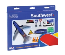 Southwest 12 Piece Playset, New 2015 Colors by Realtoy Diecast Toys item number: RT8181-1