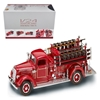 1938 Mack Type 75 Fire Engine Red with Accessories (1:24) Truck, Road Signature Item Number ROS20158R