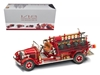 1932 Buffalo Type 50 Fire Truck Red with Accessories (1:24)