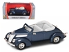 1937 Ford V8 Convertible Blue (1:43)