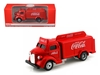 1947 Coca Cola Delivery Bottle Truck Red (1:87) HO Scale by Motorcity Classics