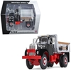 Mack B-61 Single-Axle Dump Truck Black and Silver 1/34 Diecast Model Car by First Gear, First Gear Item Number 19-4087