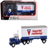 Mack R Model With 28 Pop Trailer Imperial Roadways 1/64 Diecast Model by First Gear, First Gear Item Number 60-0265