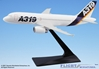 Airbus House Colors A319-100 (1:200), Flight Miniatures Snap-Fit Airliners, Item Number AB-31900H-001
