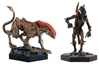 Aliens Retro Figure Collection #3 - Panther and Scorpion 2-Piece Set - Cast in Metallic Resin  - Hand-Painted Figurine  - Approximately 5.5 Inches Tall, Eagle Moss Item Number EMAPRETROPK03