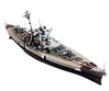 WWII German Bismarck Battleship Bismarck Norway 1941 (1:1000), Forces of Valor Item Number FOV86011