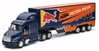 Red Bull KTM Racing Peterbilt 387 with 3Axle Trailer 1:32 by New Ray Diecast Item Number: NR14393