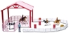 Barrel Racing Corral Playset (1:20), New Ray, Item Number NRSS-37275