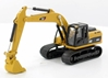 Caterpillar 320D L Hydraulic Excavator (1:87 HO Scale), Norscot Diecast Construction Equipment Item Number CAT55262