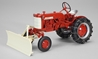 1958 Farmall Cub with Blade and Chains Features 560 Style Hood (1:16)