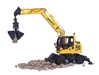 Komatsu PW 148-10 Wheeled Excavator (1:50) with Clam Shell