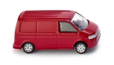 Volkswagen T5 GP Box Van in Tornado Red (1:160)