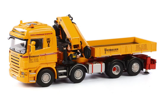 Wiesbauer - Scania R5 8x4 Highline (1:50), WSI Item Number WSI01-1699