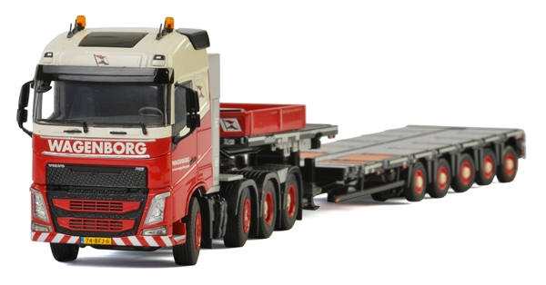 Wagenborg - Volvo FH4 Globetrotter Tractor (1:50), WSI Item Number WSI01-2015